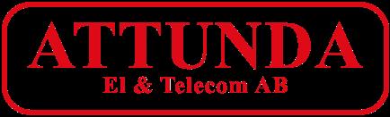 Attunda El & Telecom Logo